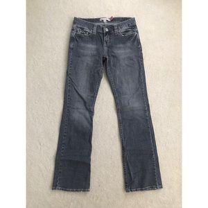Aeropostale Chelsea Bootcut Dark Jeans